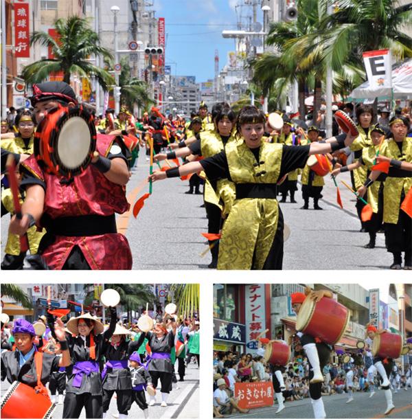 10.000 people eisa parade – Source: http://www.oki-nightlife.com